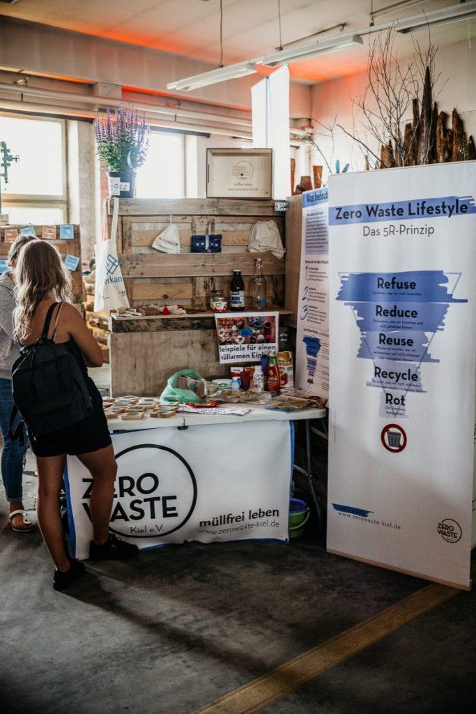 Zero waste Kiel e.V. Stand
